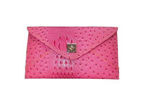 Spice Art da donna Texture leatherite Frizione Rosa