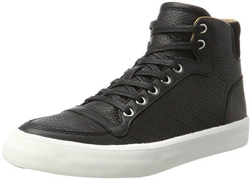 hummel Unisex-Erwachsene Stadil Rmx Lux High Hohe Sneaker, Schwarz (Black), 43 EU