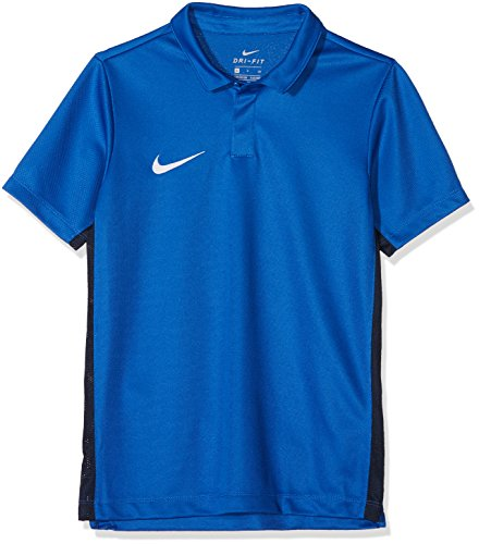 Nike Kinder Dry Academy18 Football Polo Shirt, Blau (Royal Blue/463), Gr. M (Mädchen-mesh-polo)