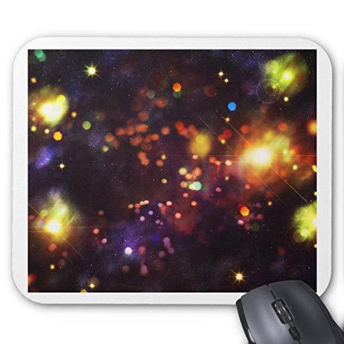 Mauspad mit seidenweicher Textiloberfl?che - Mouse Pad Paradise (antistatische Wirkung - perfekte Gleiteigenschaft PC / Computer Mousepad)-abstrakt sternenhimmel hintergrund 4