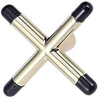LIOOBO Snooker Billar Cue Rack Puente Cabeza Tenedores Cruzados Barra Pool Cue Stick Holders Mesa de Billar Accesorio