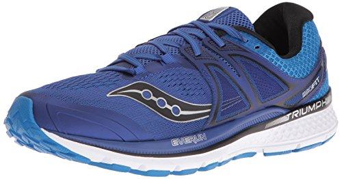 Saucony Triumph Iso 3, Scarpe Running Uomo, Multicolore (Azul Oscuro/Azul/Blanco/Plata), 45 EU