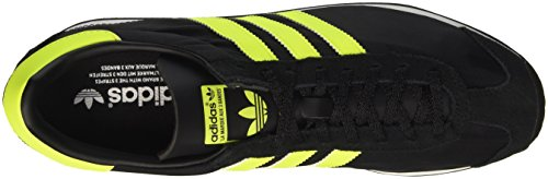 adidas Country Og, Entraînement de course homme Multicolore - Multicolore (Cblack/Syello/Vinwht)