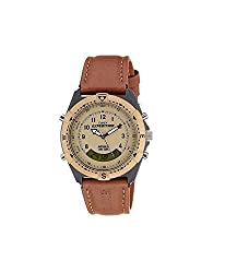 About the brandTimex, the international manufacturing and marketing brand of exclusive watches, has yet again come up with a fantastic watch called the Timex Expedition Analog-Digital Beige Dial Unisex Watch - MF13. This eternal timepiece is desig...