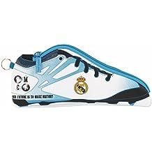 Real Madrid - Estuche portatodo zapatilla, equipación 2017/2018 (Safta 811754584)