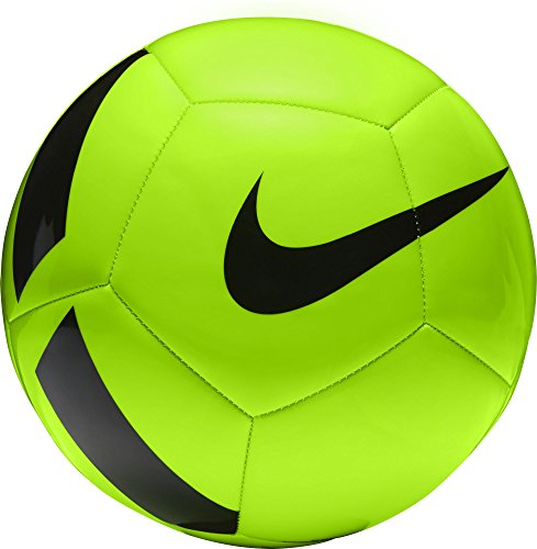 Nike nk ptch team, pallone unisex, verde (electric green / black), 4