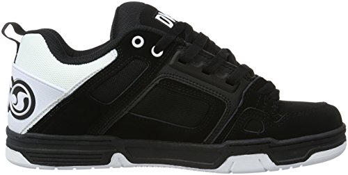 Dvs Shoes Comanche, Scarpe Da Skateboard Uomo Nero (schwarz (blk Wht Blk 965))