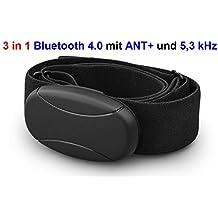 Bluetooth 4.0y ANT y 5kHz descodificado Pecho Correa para Wahoo Aplicación para Samsung Galaxy S3, S4, S5, S6, S7