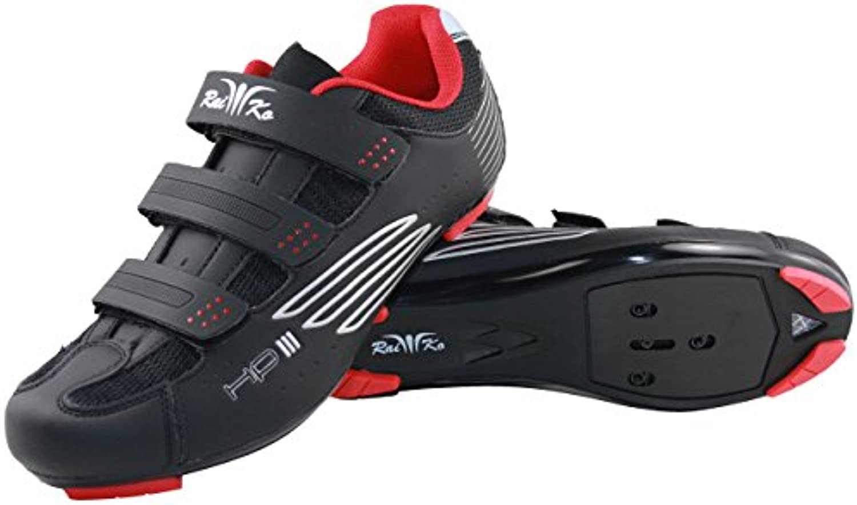 raiko Sportswear HP3 – Zapatos de ciclista, negro, 45  -