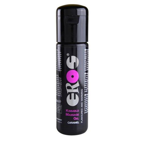 Megasol ER42103 EROS Pleasure Kissable Massage Gel-Caramel 100ml