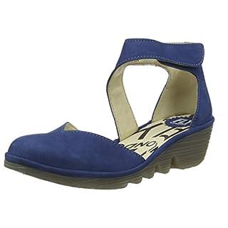 Fly London Women's Pats801fly Closed Toe Sandals, Blue (Blue 021), 5 UK (38 EU)
