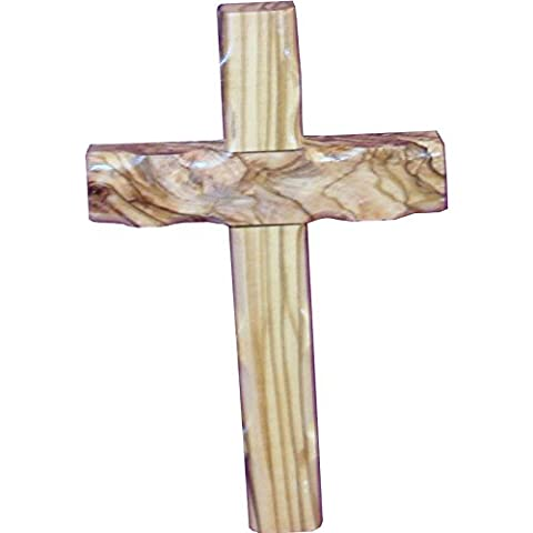 Wall Hanging Wooden Cross 16cm Olive Wood Wall Cross Easter