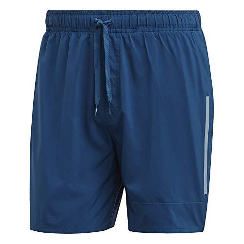 adidas Herren BOS SH SL Swimsuit, Legend Marine/ash Grey s18, L - Adidas Court Sport Kurz