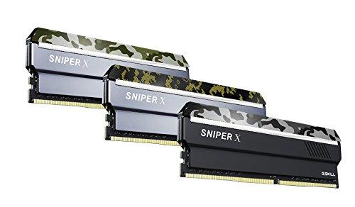 G.Skill Sniper X K2 - Memoria Principal (2x16GB DDR4) Color Camuflaje