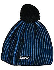 Hielo Baer Eisbär Rodrigo pompón Unisex Gorro Negro de color azul