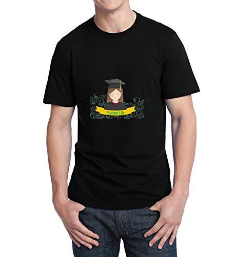 c968ec1f00 LumaShirts Student Life Tears Graduation High School_006571 T-Shirt Tshirt  para la Hombres Hombre Mens