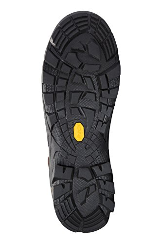 Mountain Warehouse Brecon Mens Waterproof Vibram Boots Marrone