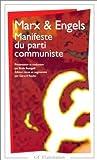 Manifeste du Parti communiste de Karl Marx (4 janvier 1999) Poche