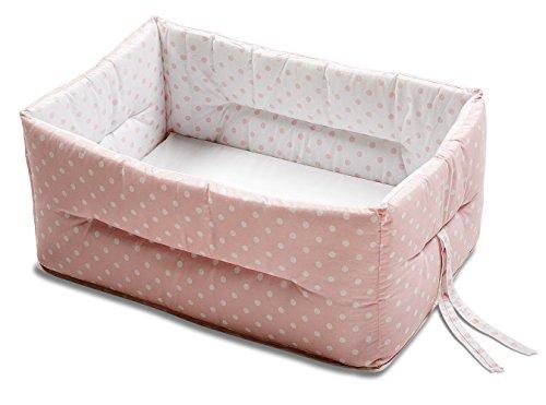 italbaby bebe pois rducteur de lit bb rose - Reducteur De Lit Bebe