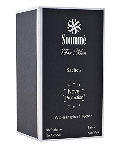 Novel Protection for Men - Anti-Transpirant Tücher