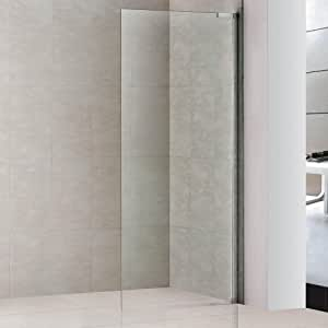 EasyClean Wet Room 900mm Shower Enclosure Glass