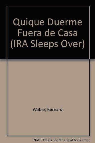 Quique Duerme Fuera De Casa/Ira Sleeps over par Bernard Waber