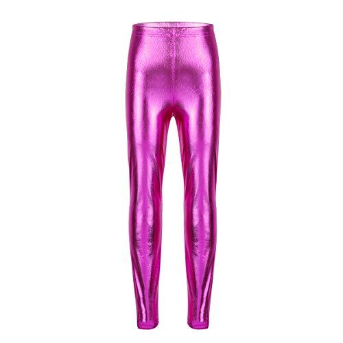 dPois Leggings Niña Leggings Cintura Elástica Pantalones Largos...