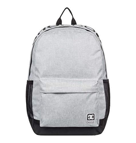 DC Shoes Herren BACKSIDER Rucksack Backpack, Grey Heather, 1SZ