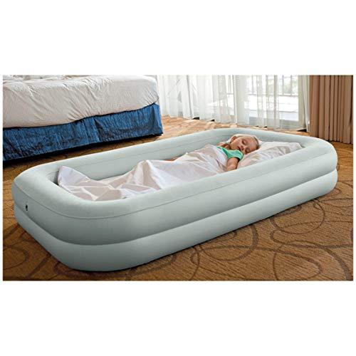 INTEX Reisebett Kinderbett 107x168x25cm Luftbett mit Pumpe Gästebett Bett Gästebett