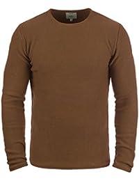 Redefined Rebel Mace Jersey De Punto Suéter para Hombre con Cuello Redondo  de 100% Algodón c28cd6a5cbcf