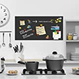 Magnetfolie - Memoboard selbstklebend - Küche, Magnettafel, Tafelfolie magnetisch, Wandtafel, Klebefolie, Dekofolie -100x50 inkl. 2x Kreide