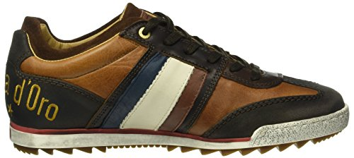 Pantofola Doro Imola Homme D'adhérence Faible, Sneaker Low Man Braun (.jcu)