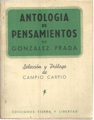 ANTOLOGIA DE PENSAMIENTOS.