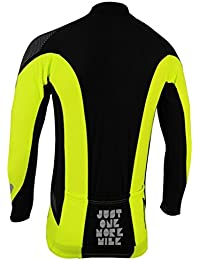 More Mile Thermal Long Sleeve JUNIOR CYCLE jersey MM1971