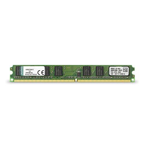 Kingston KVR667D2N5/1G Memoria RAM da 1 GB, 667 MHz, DDR2, Non-ECC CL5 DIMM, 240-pin