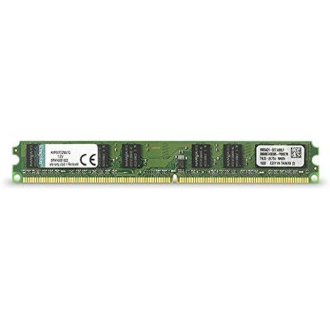 Kingston KVR677D2N5/1G - Memoria RAM de 1 GB (677 MHz DDR2 Non-ECC CL5 DIMM, 240-pin)
