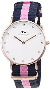Daniel Wellington - Reloj de pulsera para mujer (analógico, cuarzo, talla única), color blanco de Daniel Wellington
