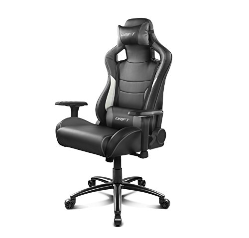 Drift DR400BGY – Silla gaming, color negro y gris