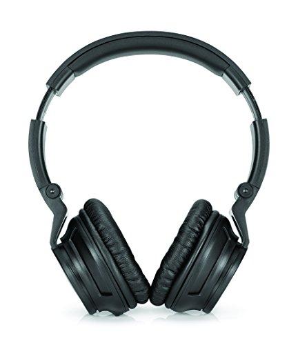 HP H3100 (T3U77AA) Over-the-Ear Kopfhörer (Rauschunterdrückung, Mikrofon, 3,5 mm Audiokabel) für Computer, Tablets, Smartphones, MP3-Player, Notebooks in schwarz