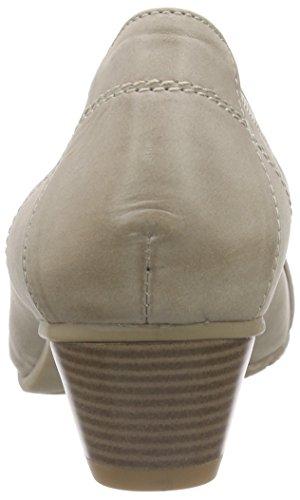Jana 22304, Chaussures à talons - Avant du pieds couvert femme Gris - Grau (PEPPER 324)