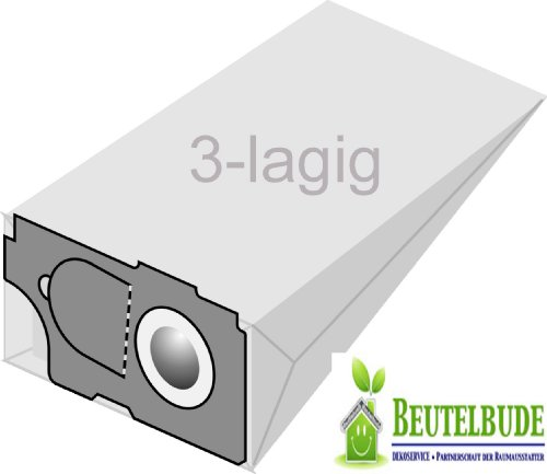 5 Staubsaugerbeutel 3-lagig für Kärcher 6.904-097 , CV 36/2 , CV 46/2 , CW 50 , CW 100