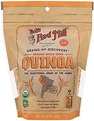 Bobs Red Mill Organic White Quinoa Grain, 13 Ounce