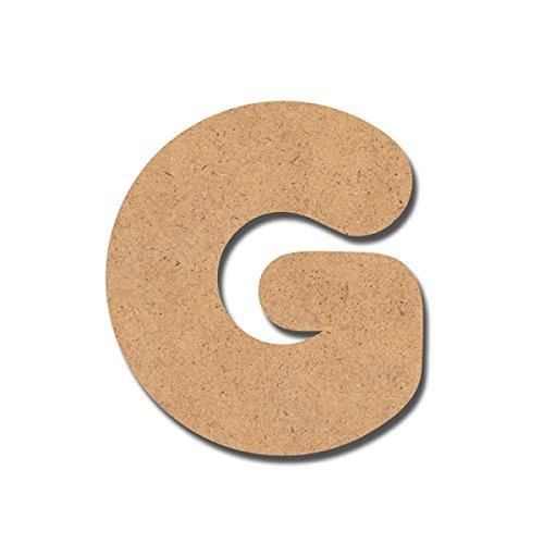 Canevas pour enfant Loisirs créatifs - Lettre en bois 7 cm g