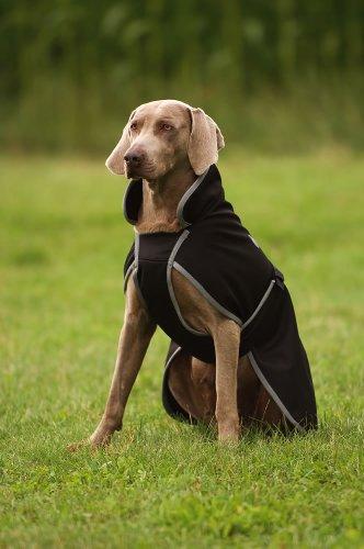 Artikelbild: Ekkia Hundemantel Softshell, Hundejacke, dunkelblau, 30cm