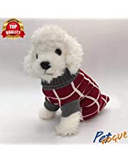 PetVogue Dog Sweater Dog Turtleneck Cable Knit Pullover Warm Pet Sweaters