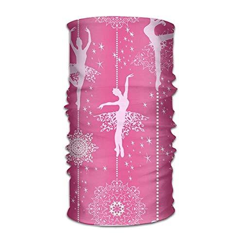 Jolly2T Ballerina Girl Bandanna Headwear Neck Gaiters Variety Scarf Wrap
