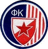 Roter Stern Belgrad Aufnäher Aufbügler