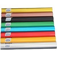 Conjunto de 8 relevos Senior Vinex Aluminium, IAAF certificado, 8 colores