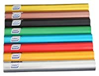 Sparset mit 8 Staffelstäben Senior Vinex Aluminium, IAAF zertifiziert, 8 Farben