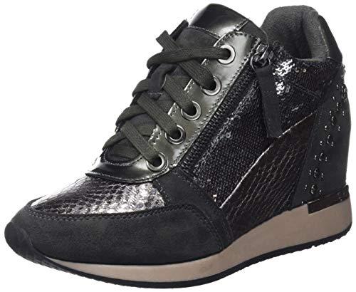 XTI 48262, Zapatillas Altas Mujer, Gris Grey, 40 EU